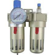 Filtro Regulador e Lubrificador de Ar 1/2´ - BEFC4000