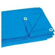 Lona 6 x 6 mts - Azul com Olhais