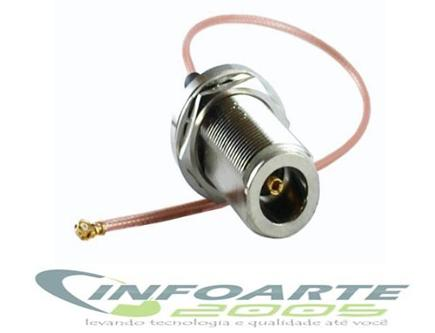Pigtail Ufl/nfemea /  Mini Pci / Router Mickrotik