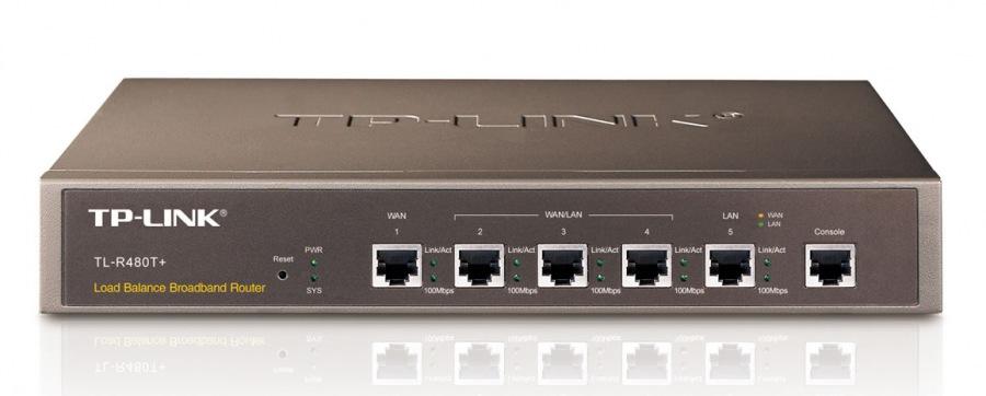 W. TP-LINK TL-R480T+2 PORTAS WAN+3 LAN 266MHZ INTEL