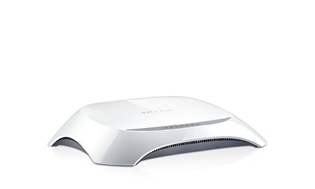 Roteador Wifi N 150m Tp-link 2-lan Antena Interna - Tl-wr720