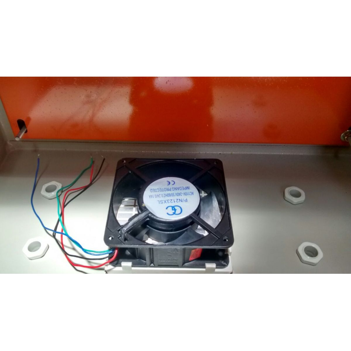 Caixa Hermética Em Aço 60x40x25 + Cooler + Filtro P Cooler