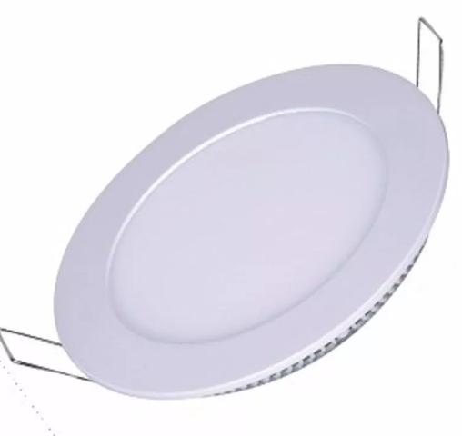 Luminarias Plafon Led 18w Embutir Maxtel Redondo