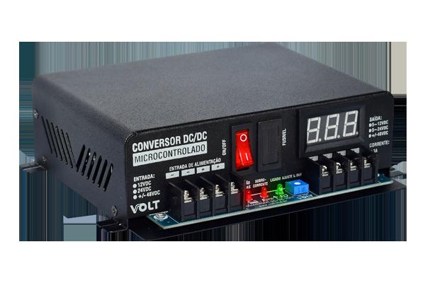 Conversor Dc/dc 48v/24v/10a Microcontrolado Isolado - Volt