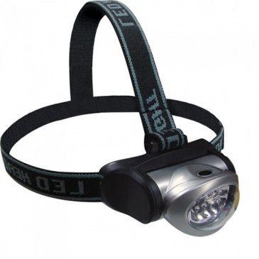 Lanterna de cabeça Turbo Led - ESPORTIMAR