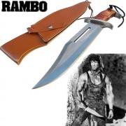 Faca Bowie Tática Militar Rambo 3 Firstblood P/Sobrevivência - Frete Grátis