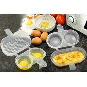 Omeleteira para Microondas - 2 lugares- Frete Grátis