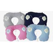 Music Travel Pillow - Travesseiro com Fone Embutido - Frete Grátis