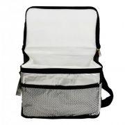 Bolsa Térmica 3,3 Litros Metalizada com Bolso Externo e Alça Wincy SCB0103