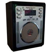 Caixa de Som Multi Uso com FM - Frete Grátis