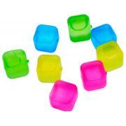 Gelo Ecológico Cubo de Congelar - Kit com 8 cubos