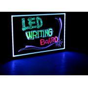 Quadro Painel Luminoso Lousa Quadro Led Neon 22x30 cm