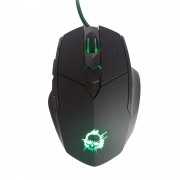 Mouse Gamer NPC 815G 6 Botões USB LED 2400 DPI