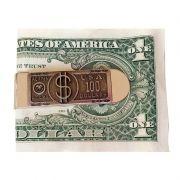 Clip Doleira 50 Reais Porta Notas