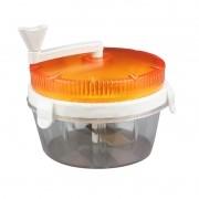 Processador Triturador Manual de Alimentos Frutas Legumes