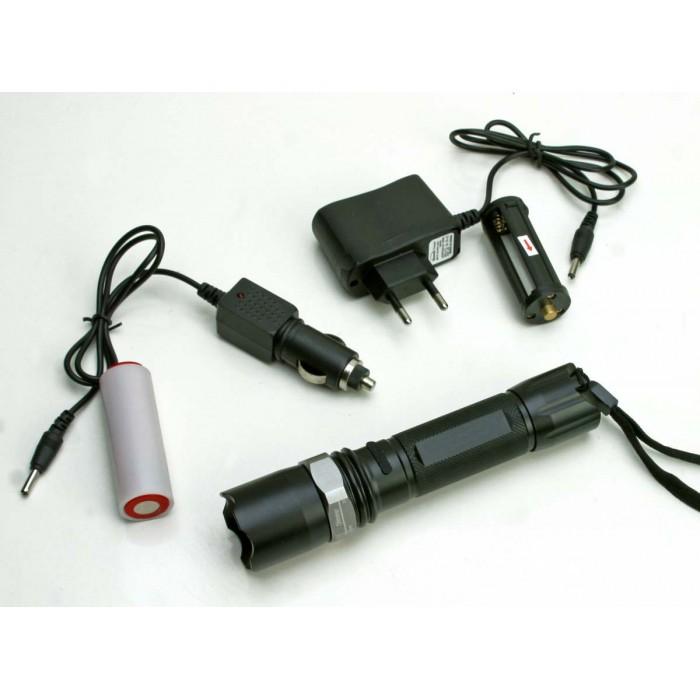 Lanterna Tática Swat Recarregável  - Thata Esportes