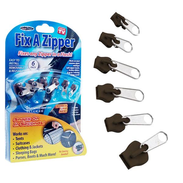 Fix a Zipper - Conserte Qualquer Tipo de Zíper em Segundos - Frete Grátis  - Thata Esportes