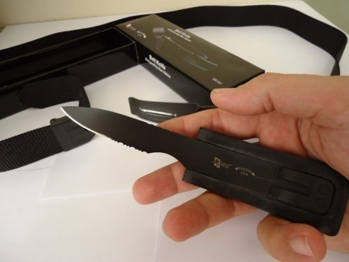 Cinto com Faca Oculta na Fivela Knife Belt - Frete Grátis  - Thata Esportes