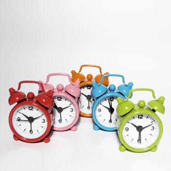 Despertador Mini  Relógio Vintage    - Thata Esportes
