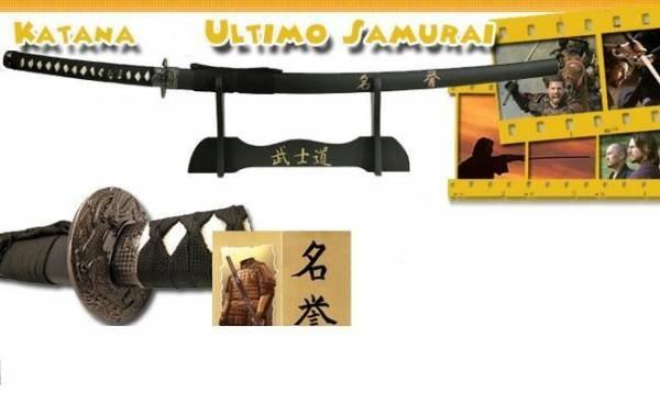 Espada Ultimo Samurai  com Suporte - Frete Grátis  - Thata Esportes