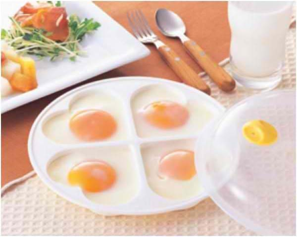 Pote para fritar Ovo no Microondas - Frete Grátis  - Thata Esportes