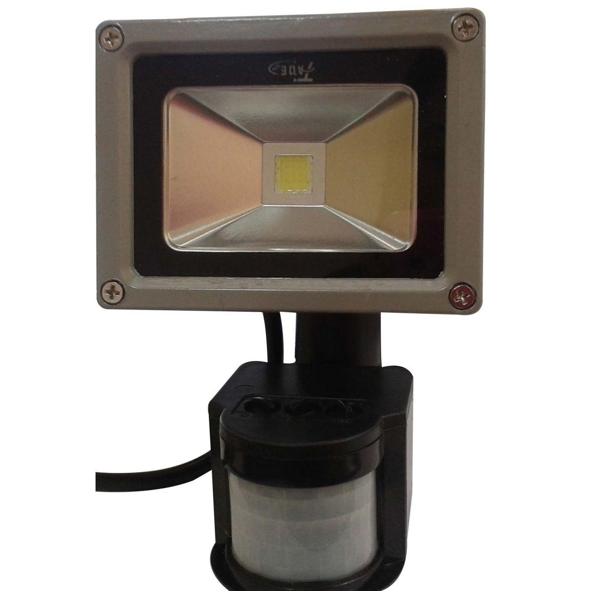 Refletor e Holofote 10w com Sensor de Presen�a - Frete Gr�tis  - Thata Esportes