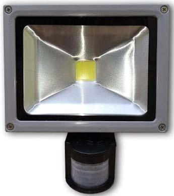 Refletor e Holofote 10w com Sensor de Presença - Frete Grátis  - Thata Esportes
