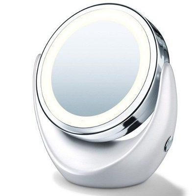 Espelho com Iluminação Luz de LED Duplo - Frete Grátis  - Thata Esportes