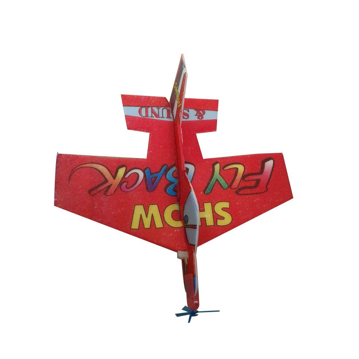 Avião Voador de Isopor Kit com 100 unidades   - Thata Esportes