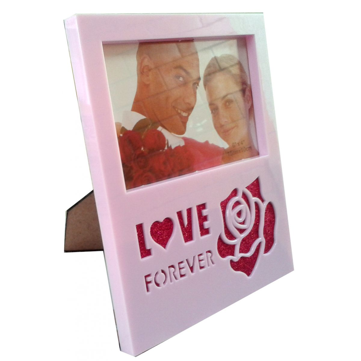 Porta Retrato Love Forever - Frete Grátis  - Thata Esportes