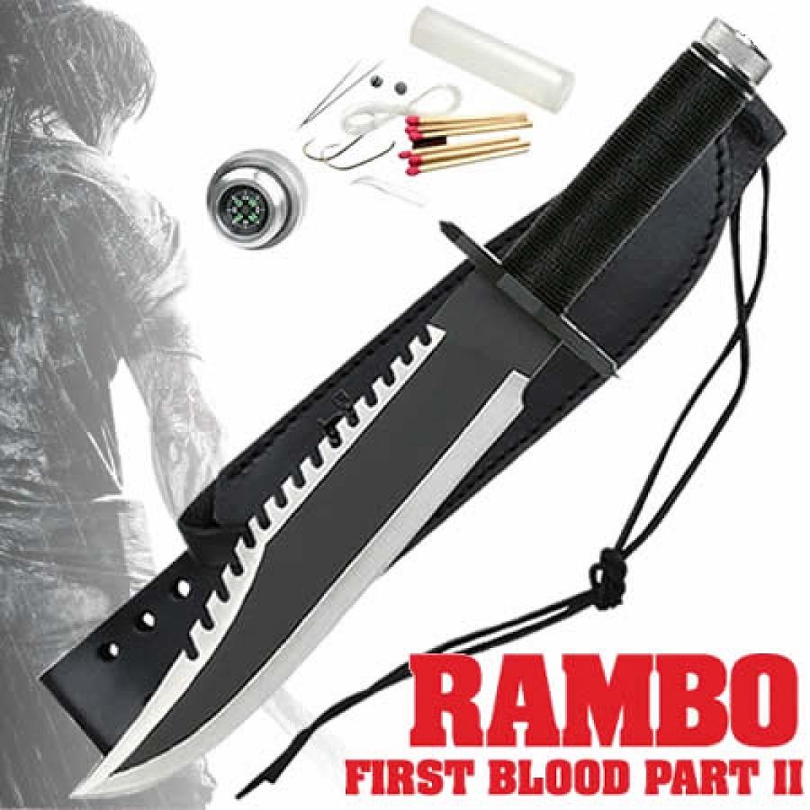 Faca Rambo 1 First Blood - Frete Grátis  - Thata Esportes