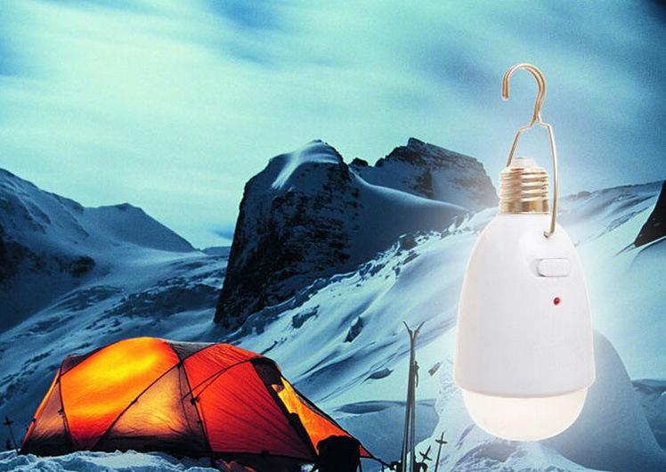 Lâmpada Recarregável Led Camping com Gancho  - Thata Esportes
