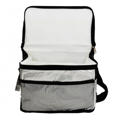 Bolsa Térmica 3,3 Litros Metalizada com Bolso Externo e Alça Wincy SCB0103  - Thata Esportes