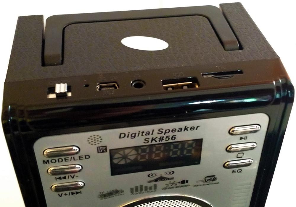 Caixa de Som Multi Uso com FM - Frete Grátis  - Thata Esportes