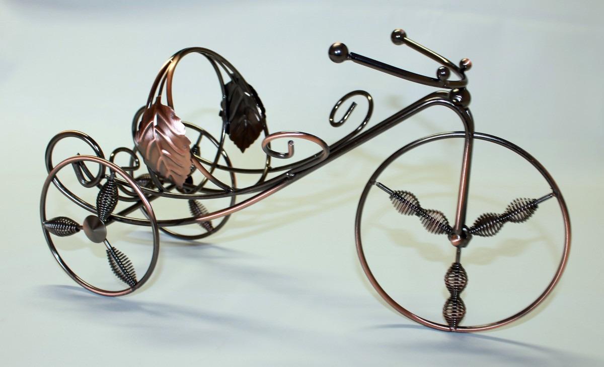Porta Vinho Vintage Bicicleta - Frete Gratis  - Thata Esportes
