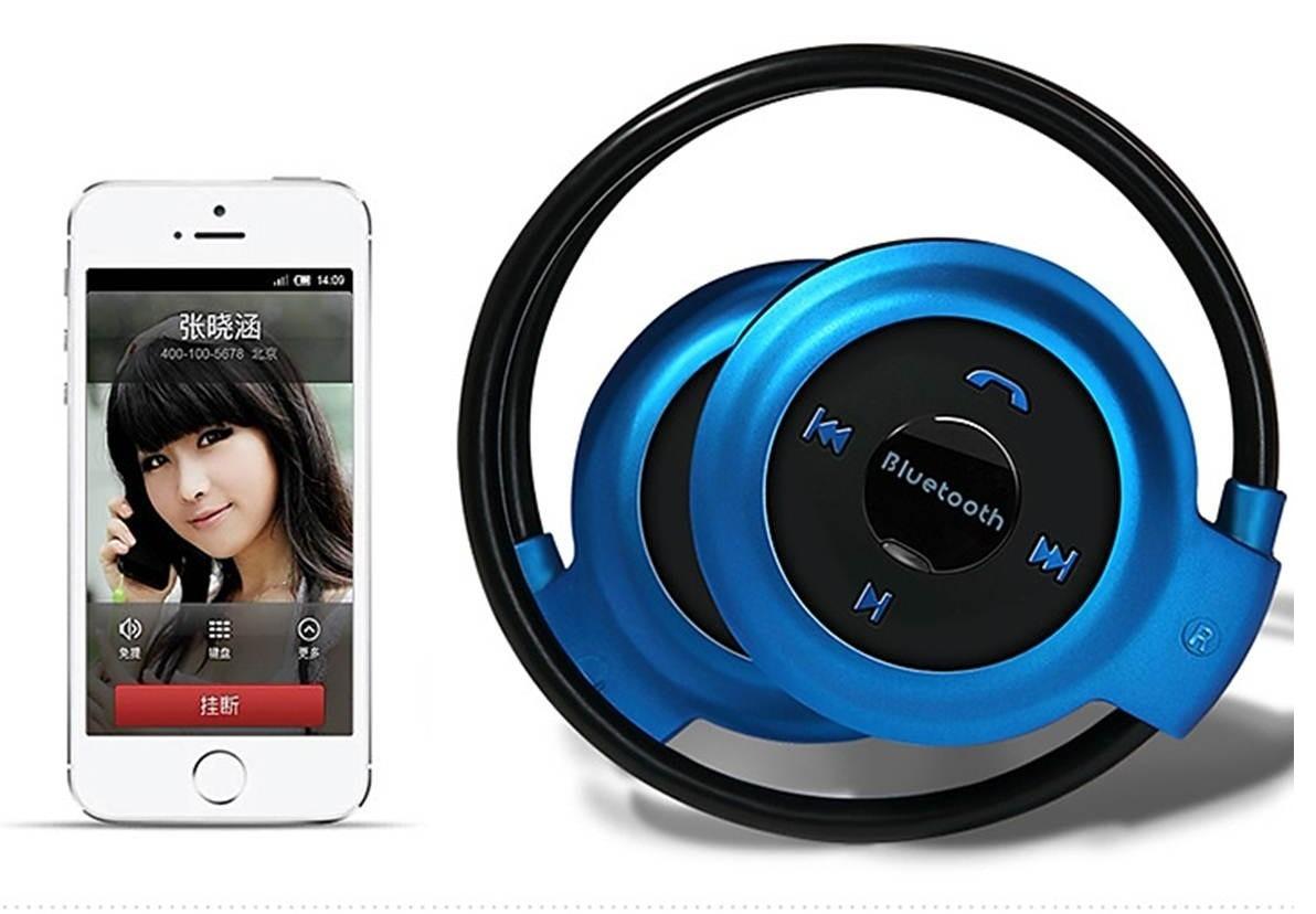 Fone de Ouvido Headset sem Fio Bluetooth Mini 503  - Thata Esportes