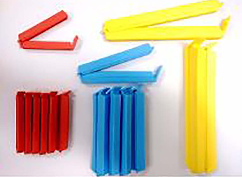 Kit com 8 Lacra Fecha Embalagens Lacre Veda  - Thata Esportes