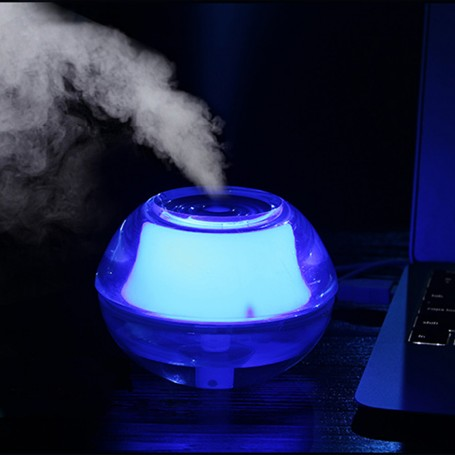 Abajur Luz Noturna e Umidificador de Ar USB 2 em 1  - Thata Esportes
