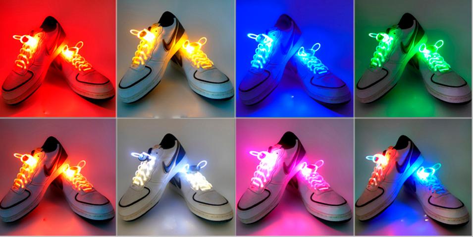 Cadarço Luminoso/Neon   - Thata Esportes