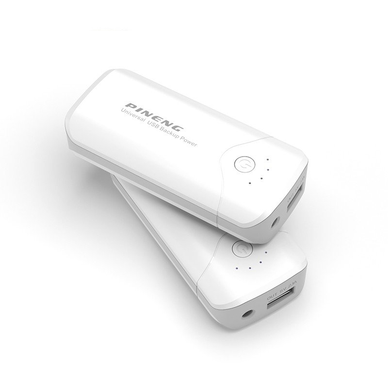 Carregador Portátil PowerBank de Bateria 5000 Mah com Lanterna  - Thata Esportes