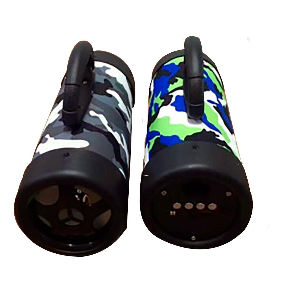 Caixa de Som Bluetooth Portátil com Alça e Pé de Apoio  - Thata Esportes