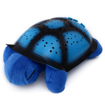 Tartaruga Protetora Musical Luminária Projetor de Estrelas  - Thata Esportes