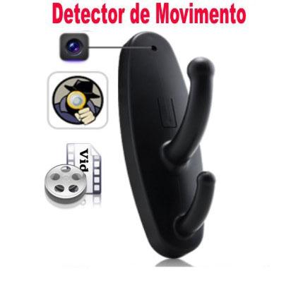 Cabide Espião Excelente Resolução Com Sensor De Movimento   - Thata Esportes