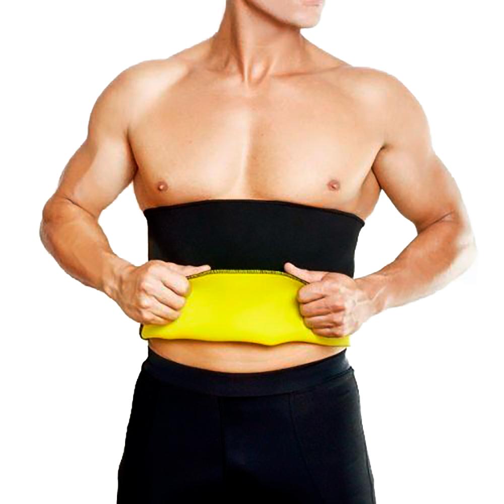 Cinta Redutora de Medidas Cintura Hot Shapers Neotex Unissex   - Thata Esportes