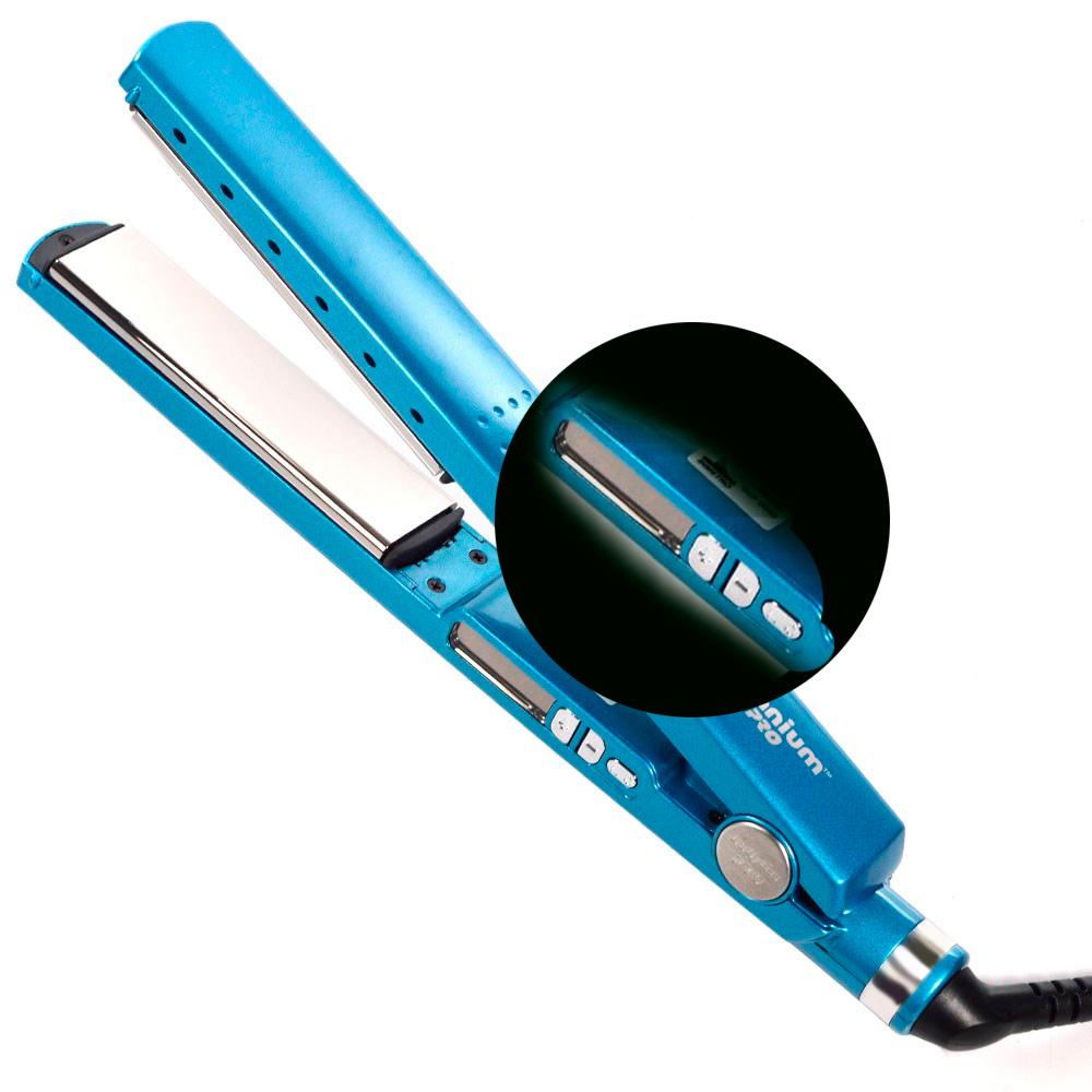 Chapinha Prancha Nano Titanium Pro 1+1/4 Bivolt - 30cm  - Thata Esportes