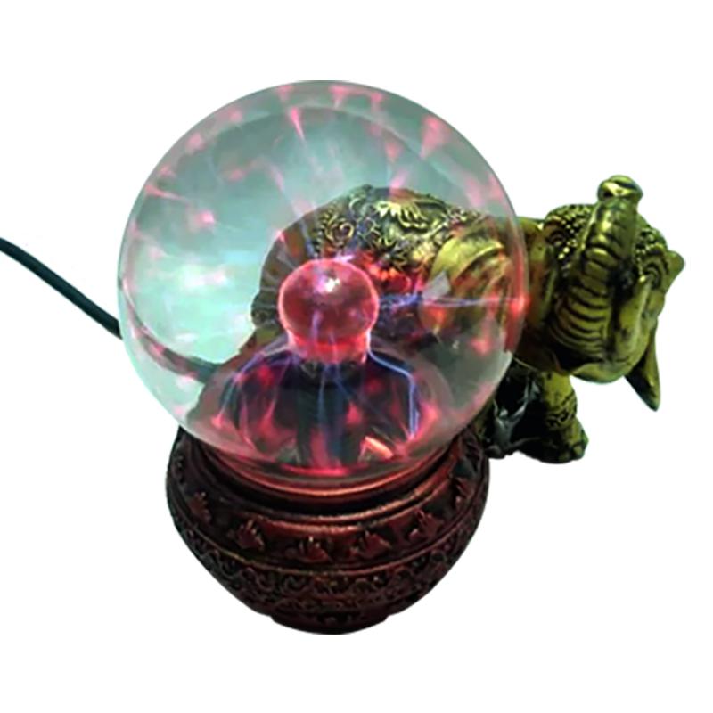 Globo de Plasma  Elefante - Plasma Sphere - Bola De Cristal  - Thata Esportes