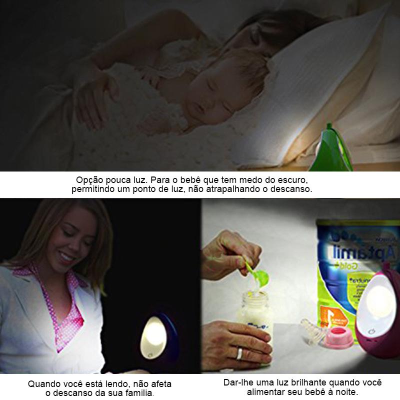 Abajur Lâmpada de Cuidados com o Bebê  - Thata Esportes