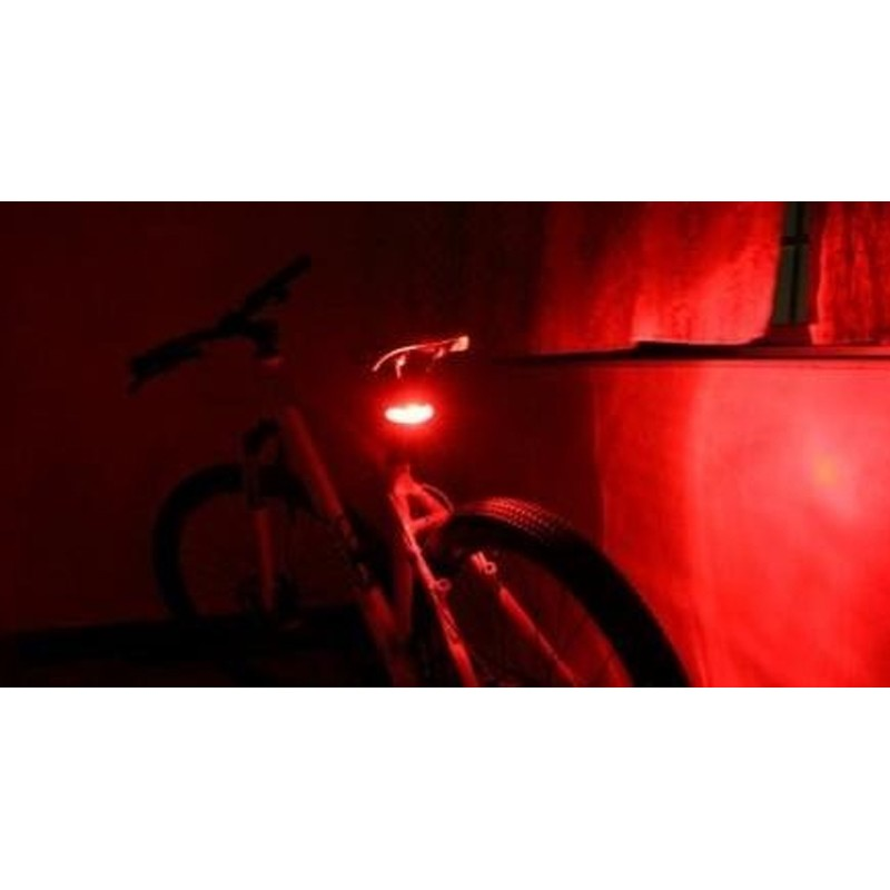 Luz Lanterna de Segurança para Bicicleta  - Thata Esportes