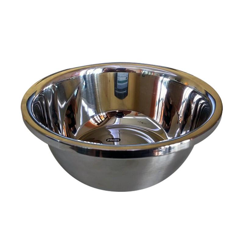 Tigela Bowl Inox 20cm  - Thata Esportes