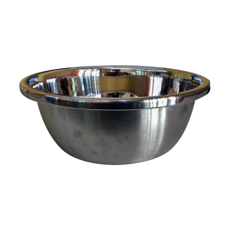 Tigela Bowl Inox 22cm  - Thata Esportes